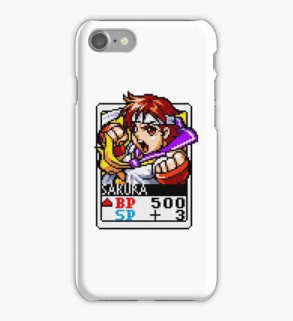 Sakura - Street Fighter iPhone Case/Skin