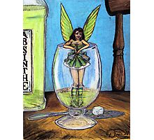 The Green Fairy Photographic Print