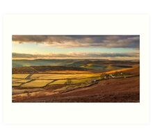 The Derbyshire Peak District UK Art Print