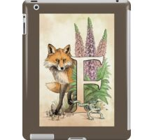 F is for...  iPad Case/Skin
