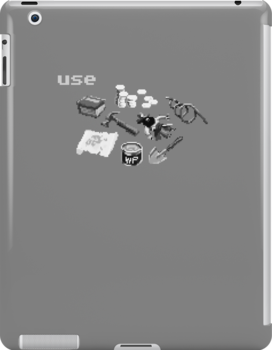 Monkey Island Inventory (grayscale) by klook