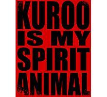 Kuroo is my Spirit Animal Photographic Print