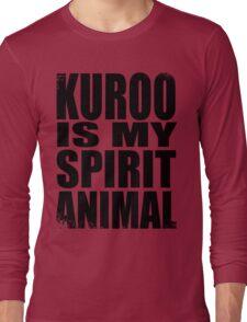 Kuroo is my Spirit Animal Long Sleeve T-Shirt