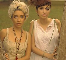 Ellie & Risa 5 by DeftFotography