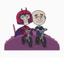 Magneto & Professor X Kids Tee
