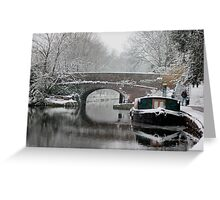Islington's Regents Canal Greeting Card