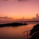 Rockpool sunset by Liam Robinson
