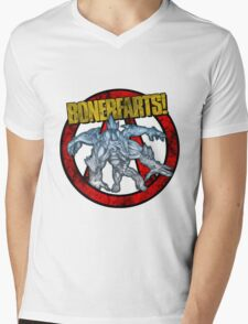 BullyMong! Mens V-Neck T-Shirt