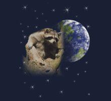 Raccoon Dream7 Kids Tee