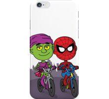 Green Goblin & Spidey iPhone Case/Skin