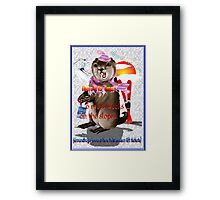 Groundhog Day-6 more weeks Framed Print