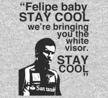 Felipe Baby, Stay Cool One Piece - Short Sleeve