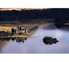 Kilchurn Castle, Loch Awe, Argyll Photographic Print