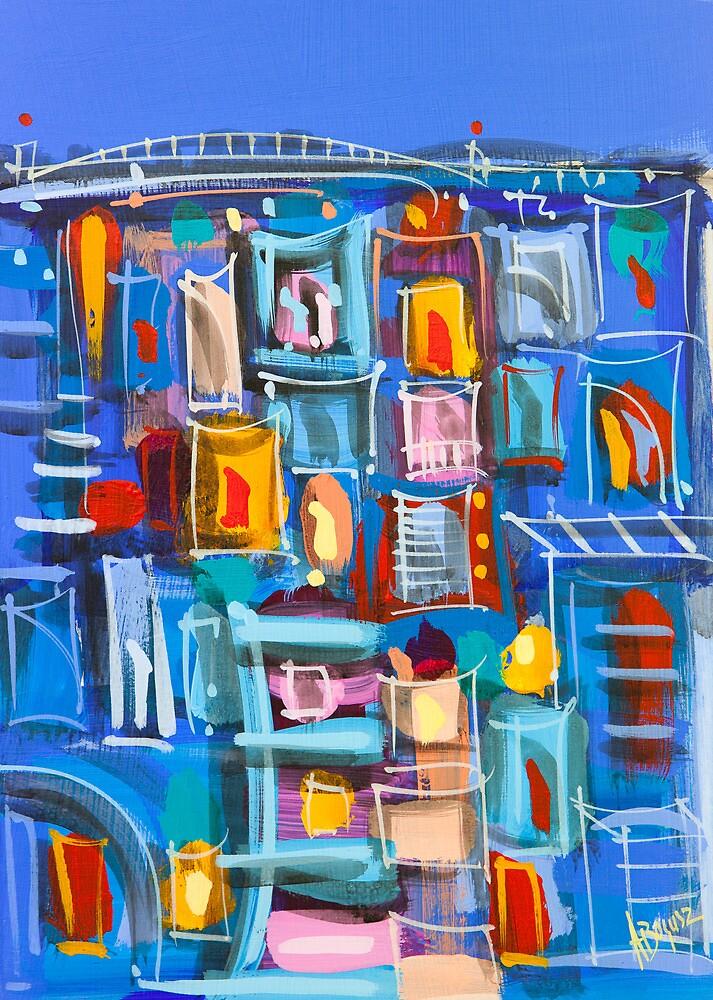 Urban Blue by Adam Bogusz