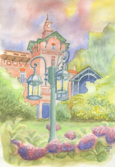 Chalet Relógio. Sintra by terezadelpilar~ art & architecture