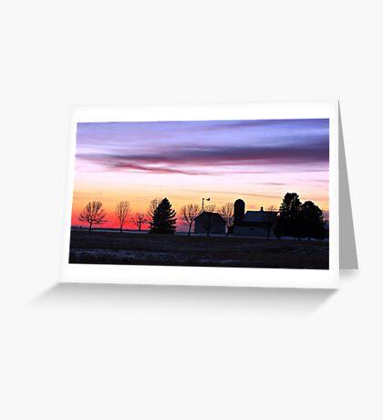 Rainbow Farm Greeting Card