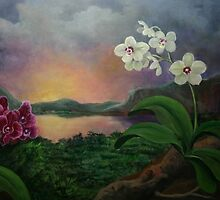 Orchids and Mystery by Randy  Burns