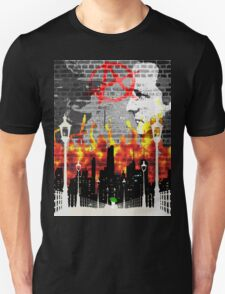 Anarchy On The Wall  T-Shirt