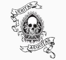 Veritas/Aequitas White by MookHustle