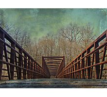 The Bridge To The Other Side of Where? Photographic Print