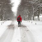 Heading Home In The Snow by Graham Ettridge