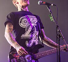 Ahren Stringer of Amity Affliction by HoskingInd