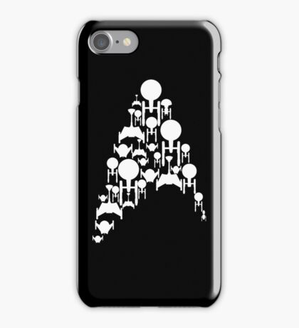 Ships Trek (Cards and Covers) iPhone Case/Skin