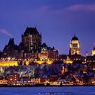 Quebec City Skyline by dawnamoore
