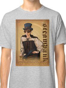 Steampunk Lady Classic T-Shirt