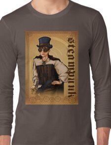 Steampunk Lady Long Sleeve T-Shirt
