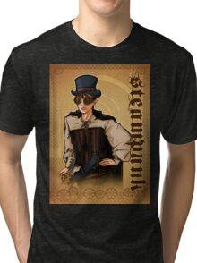 Steampunk Lady Tri-blend T-Shirt