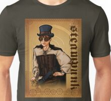 Steampunk Lady Unisex T-Shirt