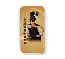 Steampunk Lady Samsung Galaxy Case/Skin
