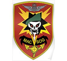 Military Assistance Command, Vietnam Crest Poster