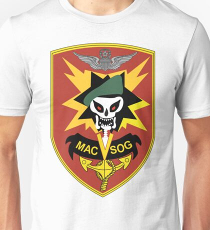 Military Assistance Command, Vietnam Crest Unisex T-Shirt