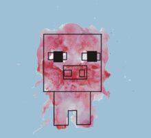Splatter Pig - Minecraft inspired Kids Tee