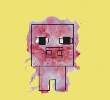 Splatter Pig - Minecraft inspired One Piece - Short Sleeve