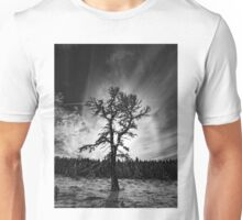 Black and white winter Unisex T-Shirt