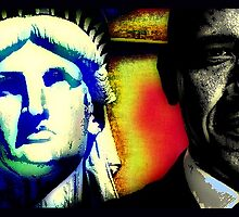 PRES. BARACK OBAMA-LIBERTY 2 by OTIS PORRITT