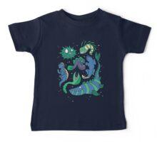 Deep sea monsters -coloured Baby Tee