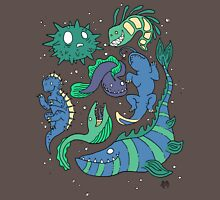 Deep sea monsters -coloured Unisex T-Shirt