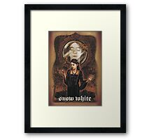 Renaissance Snow White Framed Print