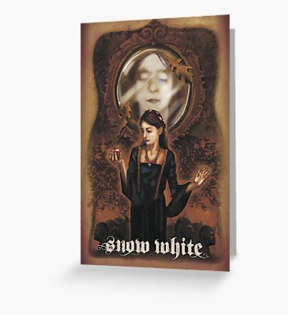 Renaissance Snow White Greeting Card