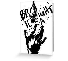 Bright Idea Greeting Card