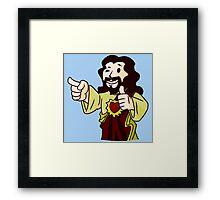 Body of Christ Framed Print