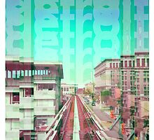 Detroit Monorail by Kelly Guillory