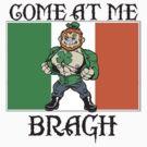 Saint Patrick come at me bro by Tardis53