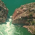 Above Horizontal Falls by Graeme  Hyde