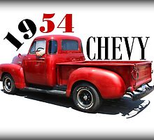 1954 Chevy by Betty Northcutt