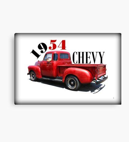 1954 Chevy Canvas Print